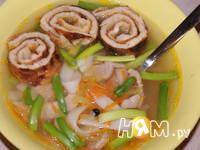 Приготовление супа со свининой и лапшой Удон: шаг 14