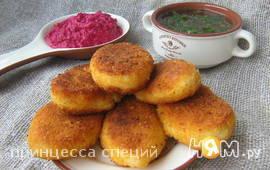 Картофельные пирожки с брынзой