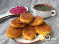 Приготовление картофельных пирожков с брынзой: шаг 6