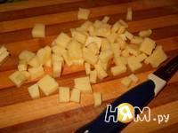 Приготовление салата с креветками и авокадо: шаг 5