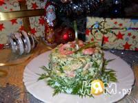 Приготовление салата с креветками и авокадо: шаг 9