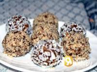 Приготовление фруктово-ореховых шариков: шаг 6