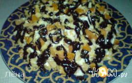 Торт Пинчер с мандаринами