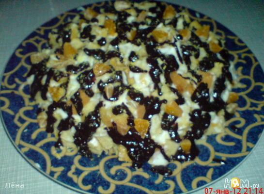 Рецепт Торт Пинчер с мандаринами