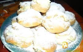 Заварные булочки с кремом