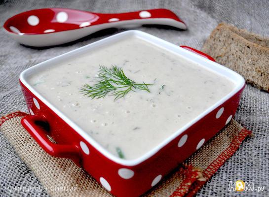 Рецепт Сливочный суп-пюре из горбуши