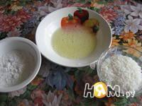 Приготовление жареного мороженого с фунчёзой: шаг 3