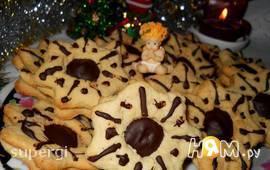 """Имбирно-медовое печенье """"Рождественская звезда"""""""
