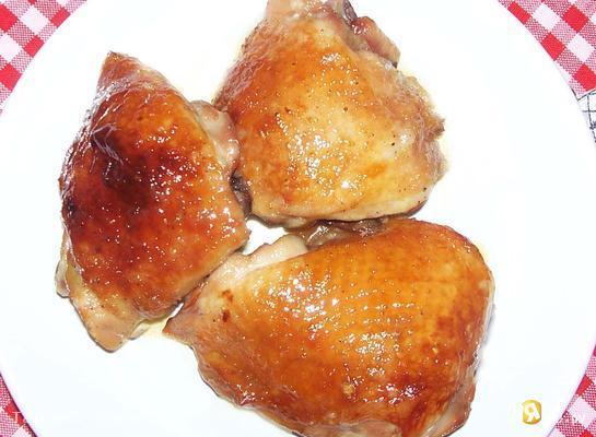 Курица запеченная в меде