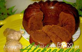 Имбирно - медовый кекс
