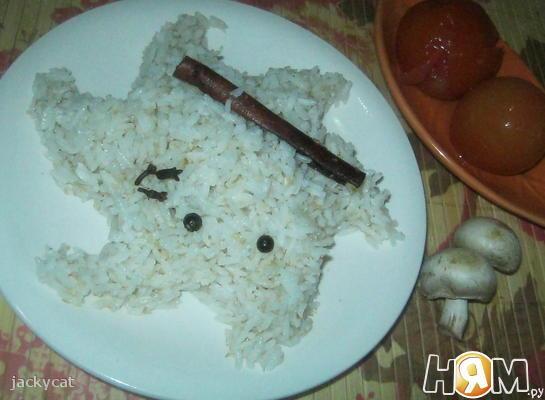 Пряный кокосовый рис
