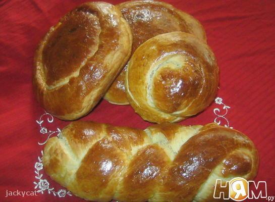 Домашний сладкий хлеб