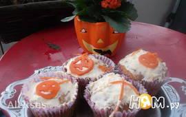 Морковные кексы маффины. Morotsmuffins