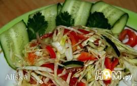 """Салат из капусты с помидорами """"Задонский"""""""