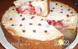 """Пирог с фруктами """"Нежный"""""""