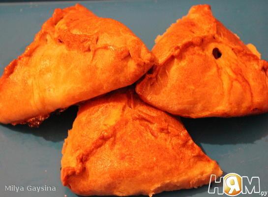 Эчпочмак (пирожки по-татарски)