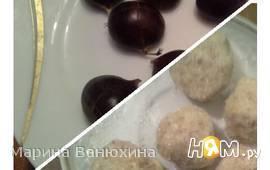 """Каштановый десерт """"Радость белочки"""""""