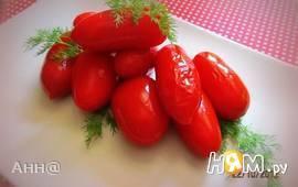 Острые, квашеные помидоры