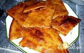 Турецкий пирог с мясом (Кыймалы бёрек)