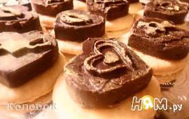 Шоколад и песочное печенье