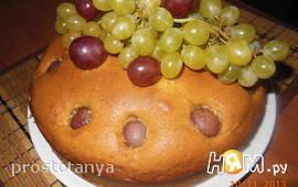 Пирог с виноградом (рецепт Джейми  Оливера)