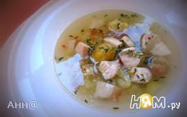 Осенний ароматный суп с каштанами