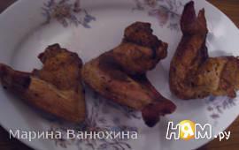 Куриные крылья по-азиатски