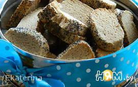 Рассыпчатое печенье из гречневой муки