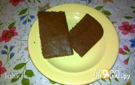 Шоколадный коржик