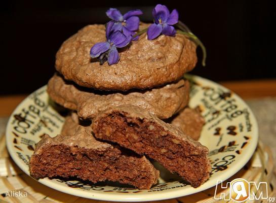 Рецепт Кофейно-ореховое печенье