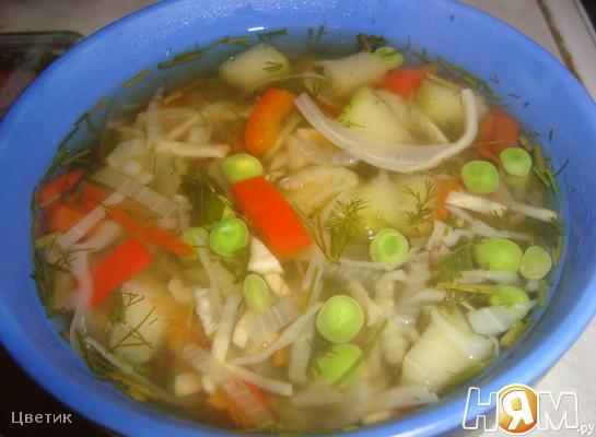 Рецепт Суп овощной вегетарианский