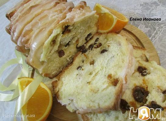 """Апельсиновый """"хлеб"""" (Orangenbrot backen)"""