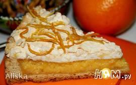 Французский цитрусовый пирог - Tarte au citron