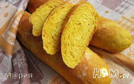 Тыквенно-кукурузные багеты