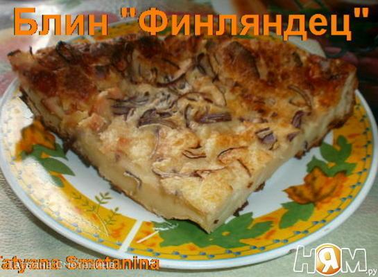 "Рецепт Блин ""Финляндец"""