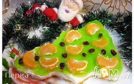 "Желейный десерт ""Для деда Мороза!"""