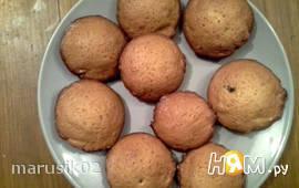 Кексы медовые с орехами и изюмом (совдеп)