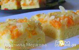 Кухен с мандаринами