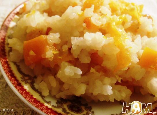 Рецепт Плов с тыквой и цитрусами