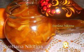 Апельсиновое варенье в мультиварке