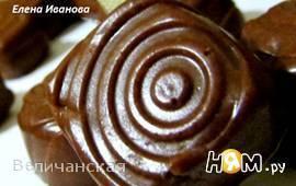 Шоколадно-желейные конфетки