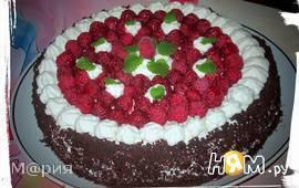 """Торт """"Шоколадно-малиновый рай"""""""