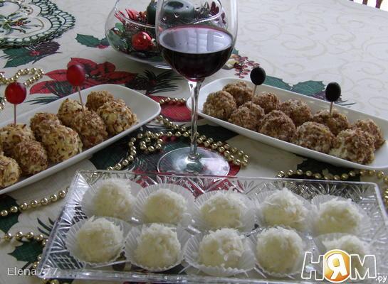 "Рецепт Закуска ""Рафаэлло"" и ""Ферерро Роше"""
