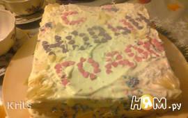 Торт из белого шоколада быстрого приготовления