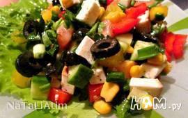 """Овощной салат """"Не греческий"""""""