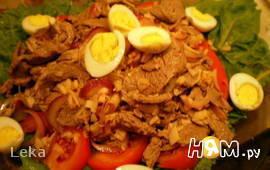 """Салат а-ля """"ShabuShabu"""" в тайском стиле"""