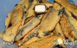 """Вегетарианская """"рыба"""" или адыгейский сыр в нори."""