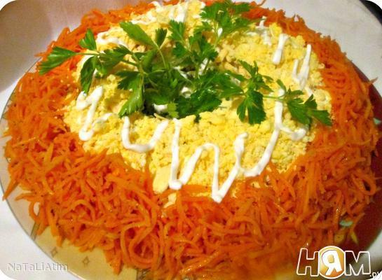 Рецепт Салат с курицей и киви