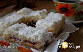 Пирожные с кокосовой стружкой