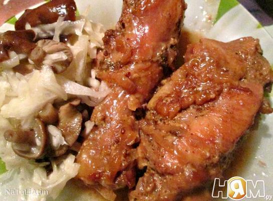 Соево-сливочная курица